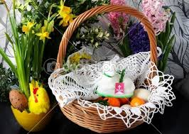 blessing of the easter basket