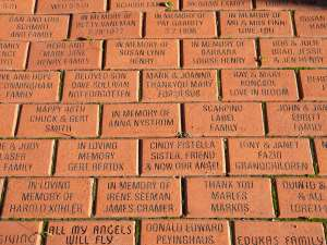 Mary's Garden bricks