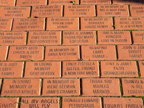 Mary's Garden bricks