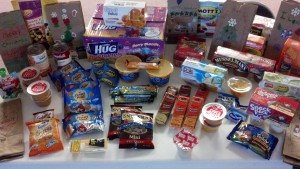 Donated items from CCD classes