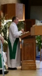 Deacon Jeff 1st homily