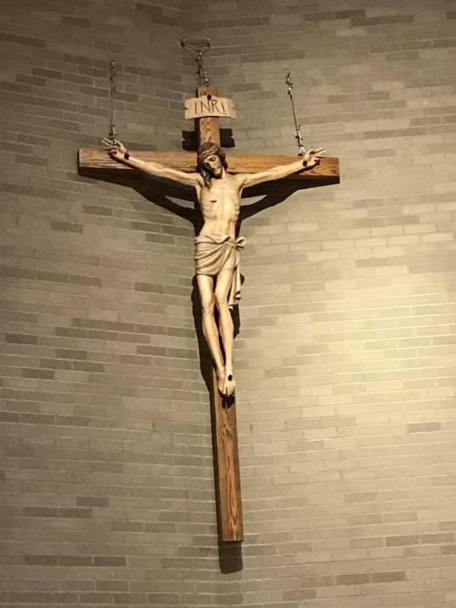 crucifix in church