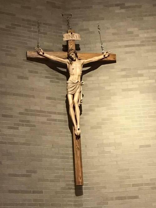 crucifix in church