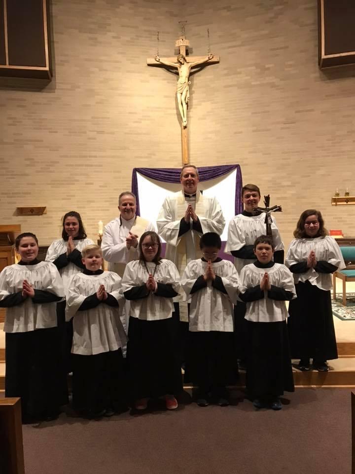 Altar Servers Eucharstic procession