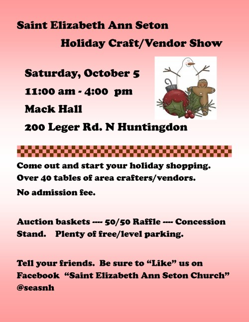 Craft Show Event flier 2019-001-001